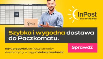 dostawa do paczkomatu ortopoduszki.pl